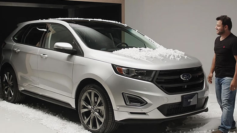 Ford edge unboxing - proof large